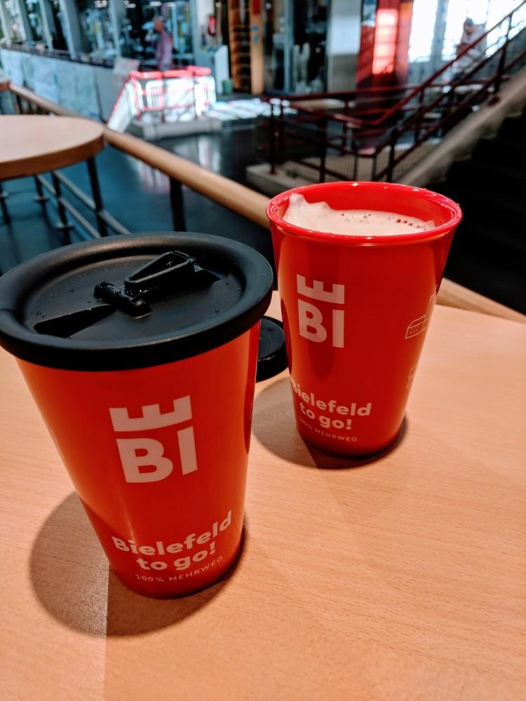 Coffee Bielefeld To Go Germany Earth day
