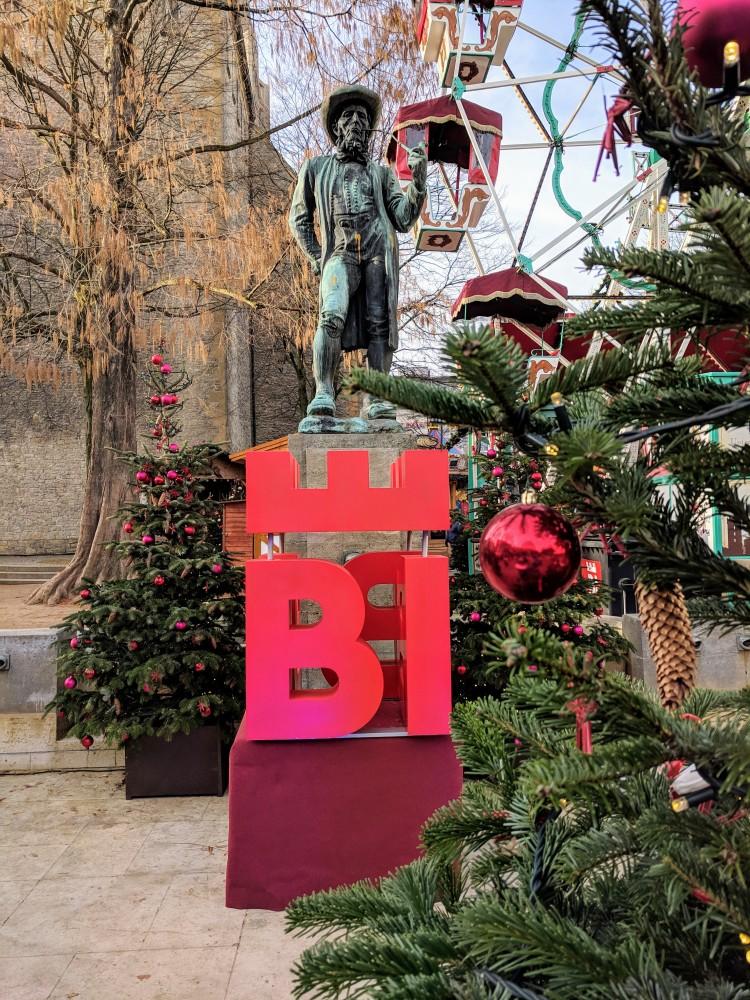Bielefeld Germany Christmas Market weihnachtsmarkt