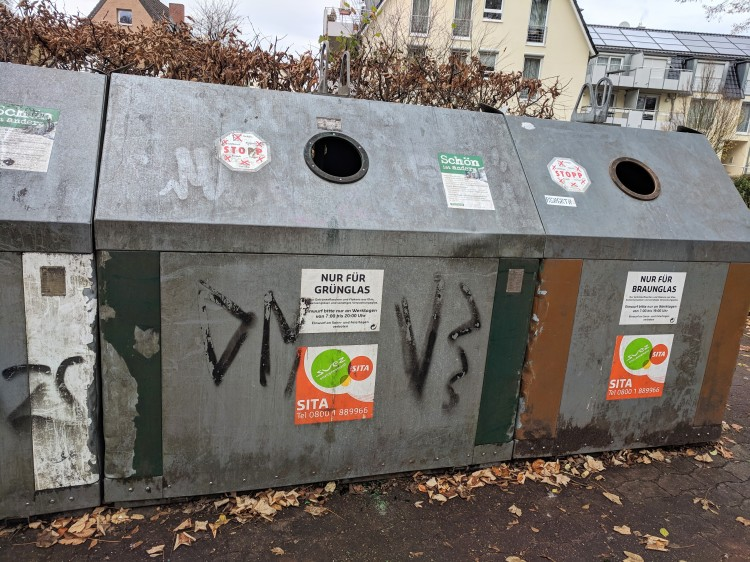 Recycle germany earth day