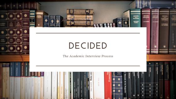 academic interview process postdoc university jobs search